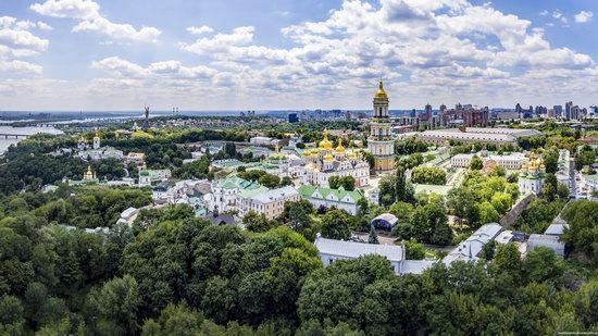 Kyiv Pechersk Lavra, Ukraine from above, photo 5