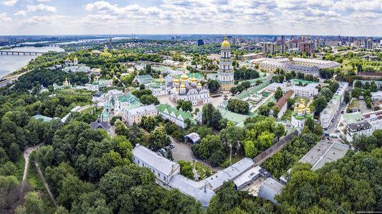 Kyiv Pechersk Lavra, Ukraine from above, photo 6