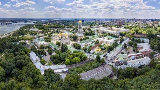 Kyiv Pechersk Lavra, Ukraine from above, photo 7