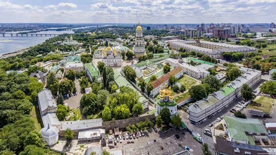 Kyiv Pechersk Lavra, Ukraine from above, photo 8