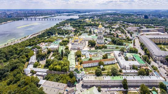 Kyiv Pechersk Lavra, Ukraine from above, photo 9