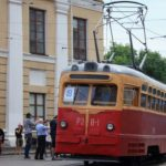 Parade of Trams in Kyiv
