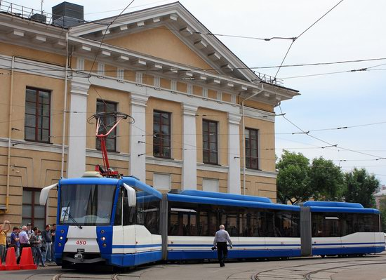 Parade of Trams in Kyiv, Ukraine, photo 10