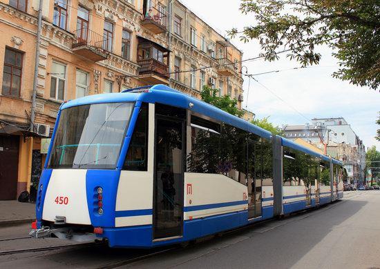 Parade of Trams in Kyiv, Ukraine, photo 11