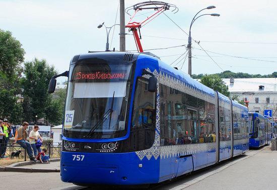 Parade of Trams in Kyiv, Ukraine, photo 12