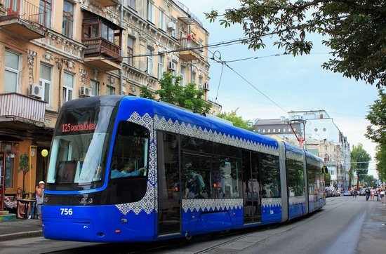 Parade of Trams in Kyiv, Ukraine, photo 13