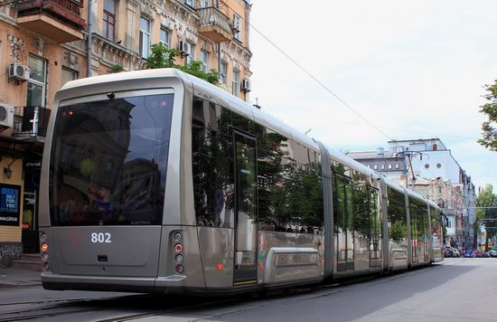 Parade of Trams in Kyiv, Ukraine, photo 15