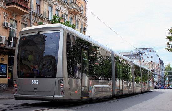 Parade of Trams in Kyiv, Ukraine, photo 15