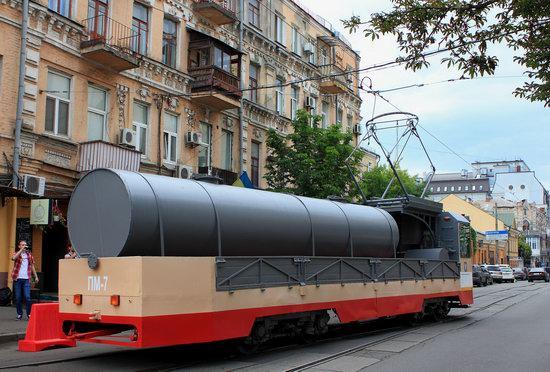 Parade of Trams in Kyiv, Ukraine, photo 18