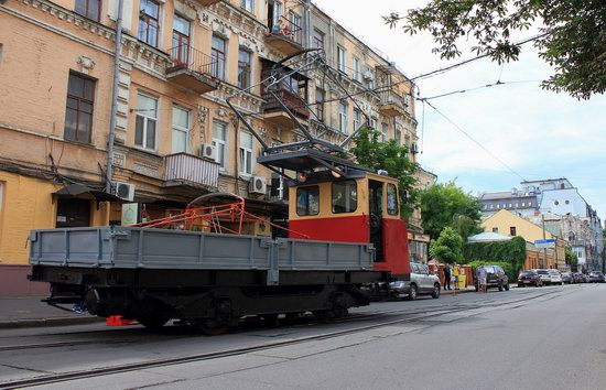 Parade of Trams in Kyiv, Ukraine, photo 19