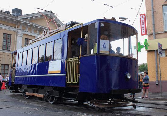 Parade of Trams in Kyiv, Ukraine, photo 2