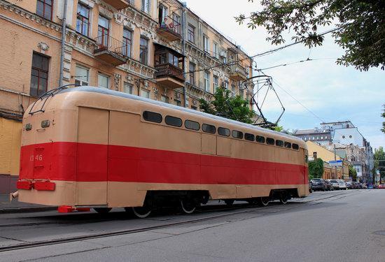 Parade of Trams in Kyiv, Ukraine, photo 20