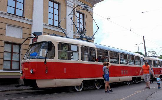 Parade of Trams in Kyiv, Ukraine, photo 3