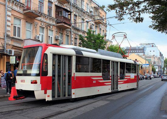 Parade of Trams in Kyiv, Ukraine, photo 4