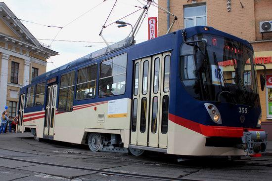 Parade of Trams in Kyiv, Ukraine, photo 5