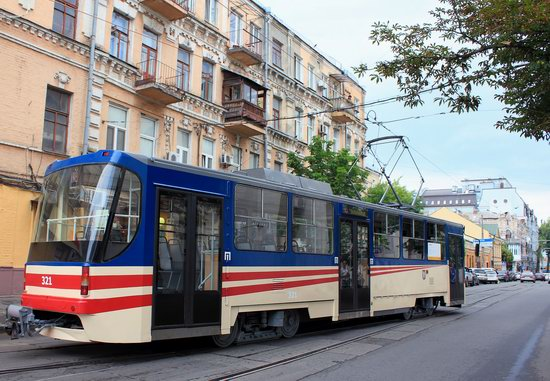 Parade of Trams in Kyiv, Ukraine, photo 6