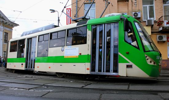 Parade of Trams in Kyiv, Ukraine, photo 8
