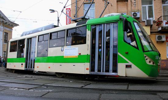 Parade of Trams in Kyiv, Ukraine, photo 8