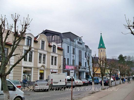 Vynohradiv town, Zakarpattia region, Ukraine, photo 13