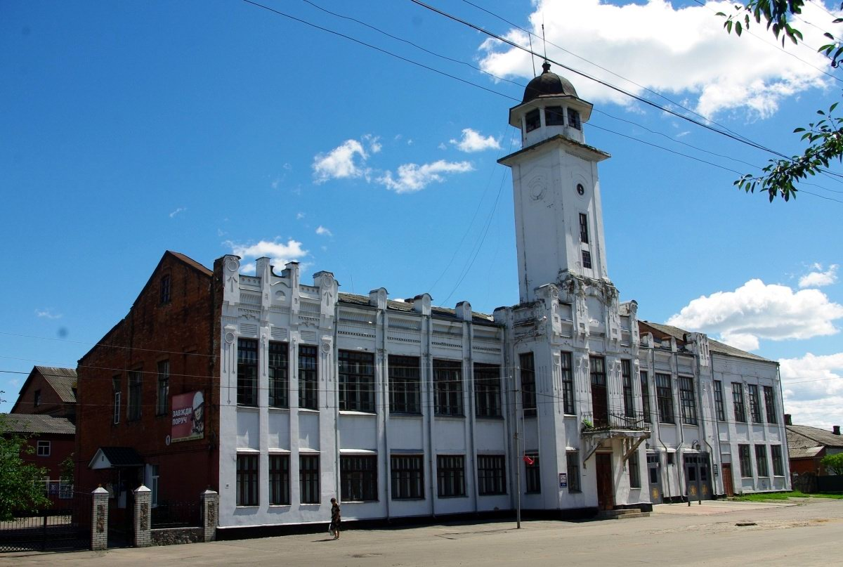Printing houses of Zhytomyr region: a selection of sites