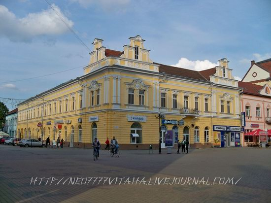 Berehove - the center of Hungarian culture in the Zakarpattia region, Ukraine, photo 26