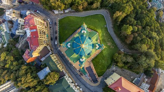 St. Andrew's Church in Kyiv, Ukraine - the view from above, photo 7