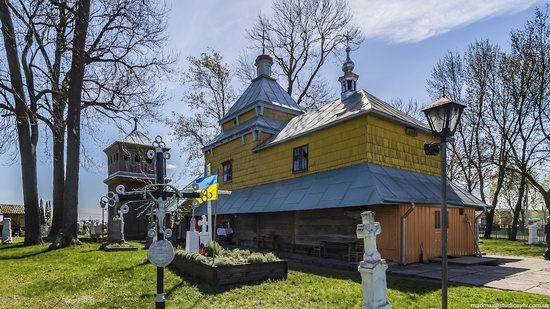 Church of the Holy Archangel Michael in Volya-Vysotska, Ukraine, photo 1