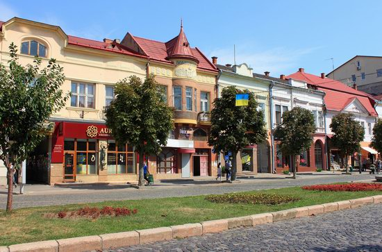 Walk through the center of Mukachevo, Ukraine, photo 10