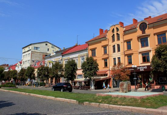 Walk through the center of Mukachevo, Ukraine, photo 11
