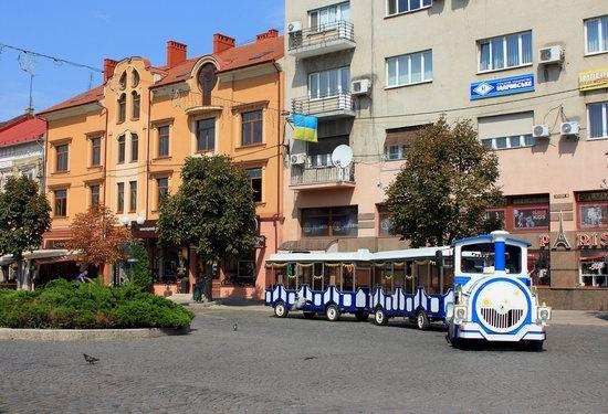 Walk through the center of Mukachevo, Ukraine, photo 12