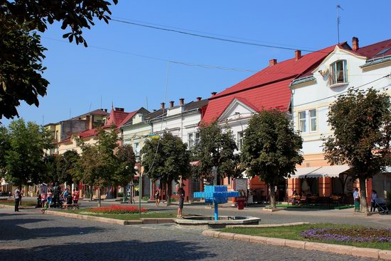Walk through the center of Mukachevo, Ukraine, photo 13