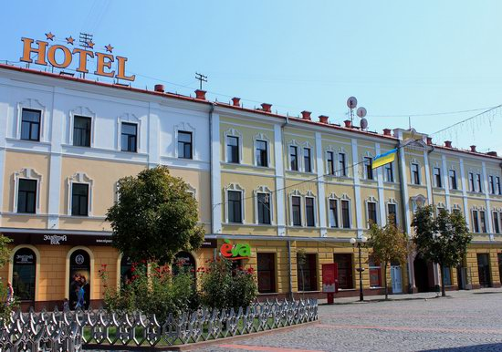 Walk through the center of Mukachevo, Ukraine, photo 18