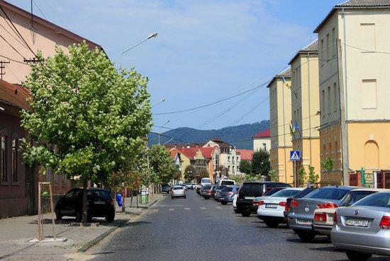 Walk through the center of Mukachevo, Ukraine, photo 2
