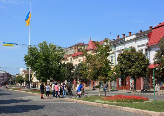 Walk through the center of Mukachevo, Ukraine, photo 9