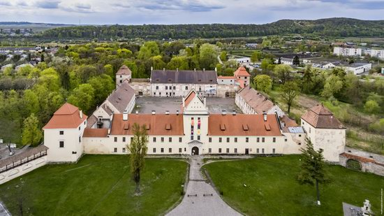 Castle of the Renaissance Era in Zhovkva, Ukraine, photo 1
