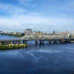 Bridges over the Dnieper River in Kyiv