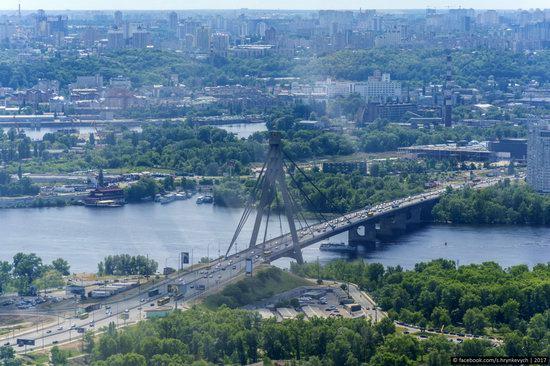 Bridges over the Dnieper River in Kyiv, Ukraine, photo 10