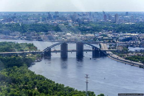 Bridges over the Dnieper River in Kyiv, Ukraine, photo 13