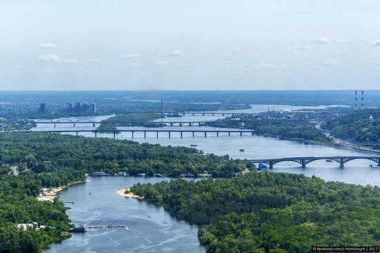 Bridges over the Dnieper River in Kyiv, Ukraine, photo 14