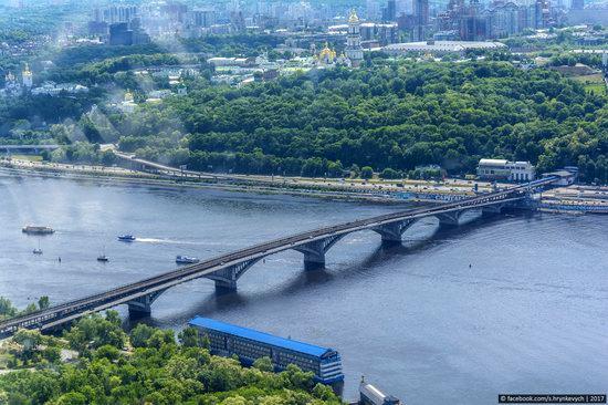 Bridges over the Dnieper River in Kyiv, Ukraine, photo 15