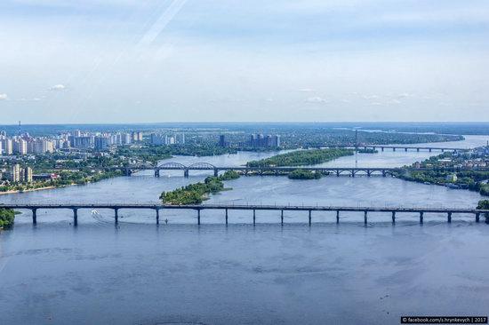 Bridges over the Dnieper River in Kyiv, Ukraine, photo 16