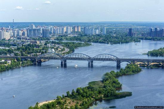 Bridges over the Dnieper River in Kyiv, Ukraine, photo 17