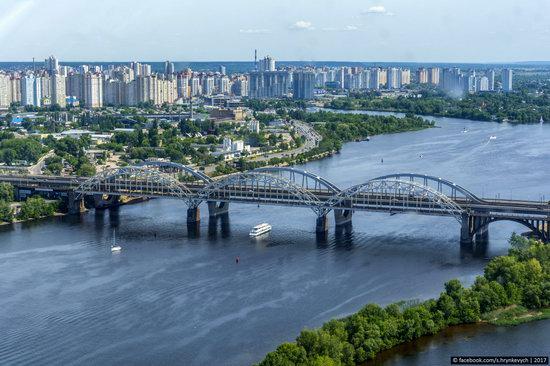 Bridges over the Dnieper River in Kyiv, Ukraine, photo 18