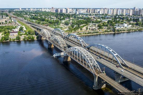 Bridges over the Dnieper River in Kyiv, Ukraine, photo 19
