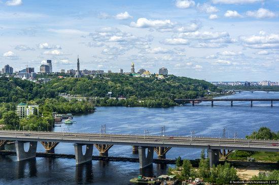 Bridges over the Dnieper River in Kyiv, Ukraine, photo 2