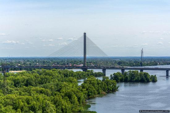 Bridges over the Dnieper River in Kyiv, Ukraine, photo 20