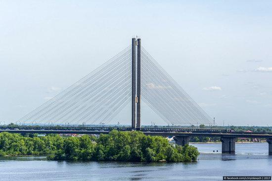 Bridges over the Dnieper River in Kyiv, Ukraine, photo 21