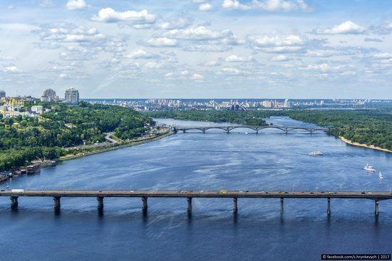 Bridges over the Dnieper River in Kyiv, Ukraine, photo 4