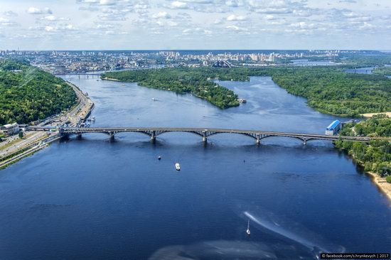 Bridges over the Dnieper River in Kyiv, Ukraine, photo 5