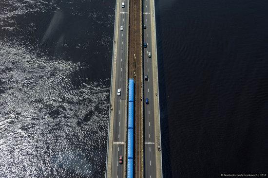 Bridges over the Dnieper River in Kyiv, Ukraine, photo 6